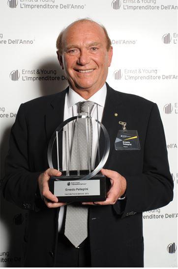 Premio a Ernesto Pellegrini Ernst&Young